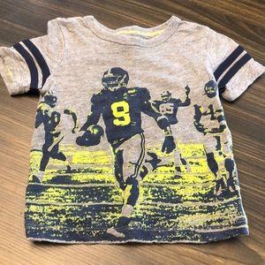 Football T-Shirt Size 2T